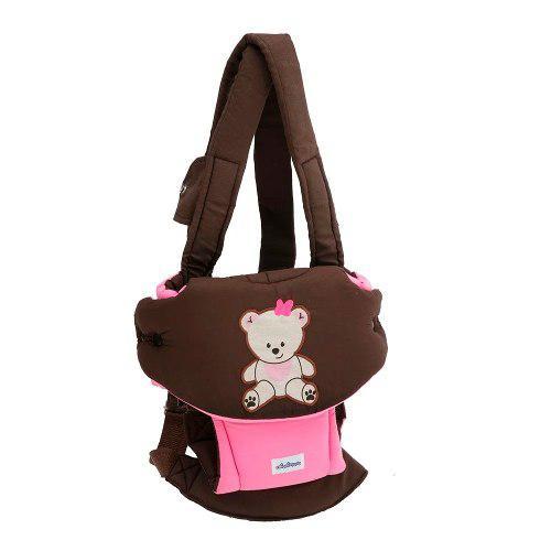 31fb98970 Canguro para bebe dos posiciones baby pink envio gratis