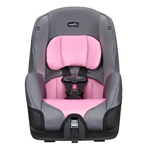 Sillita para auto rosa comoda segura evenflo