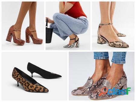 Empaca en casa paquetes de zapatos para dama