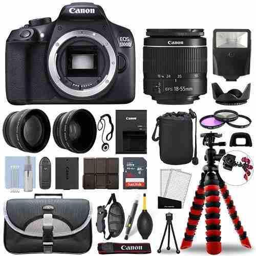 Camaras fotograficas camara canon 1300d kit fotografico msi