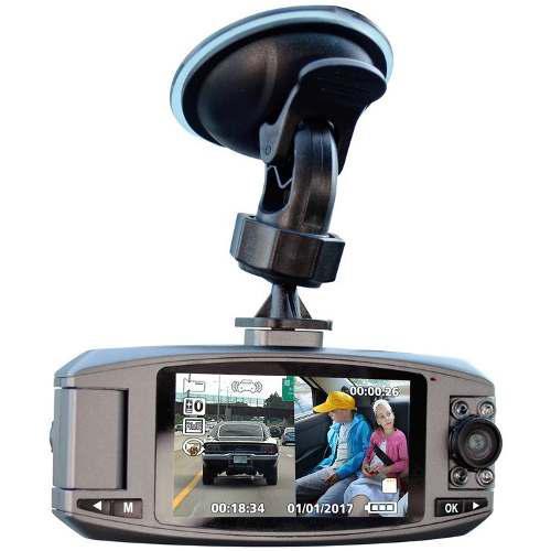 Cámara auto/carro pantalla doble hd viaje/reversa sensor