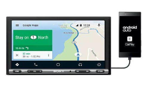 Estéreo pantalla sony xav-ax3000 carplay android auto waze