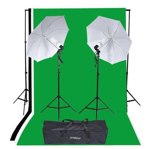 Kit fotogrfico softbox set fotografia estudio