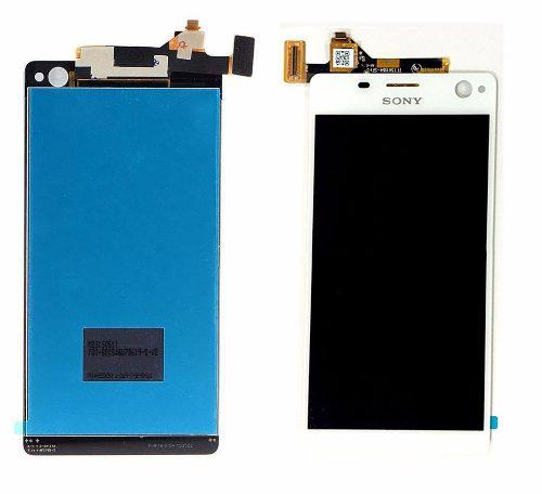 Lcd display touch sony xperia c4 e5306 e5303 negro blanco