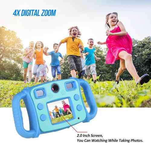 Lindo Niños Acción Cámara Digital Vídeo Gaming Hd Mini D