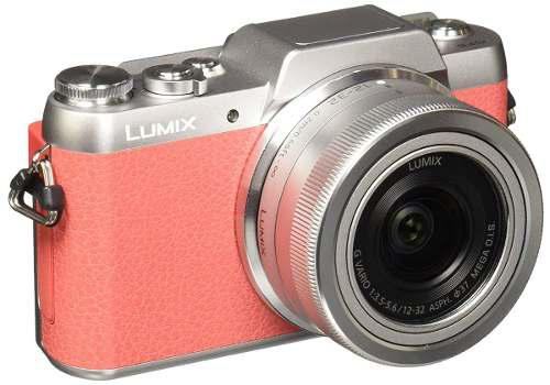 Panasonic lumix dmc-gf8k p kit cámara digital/lente, pink