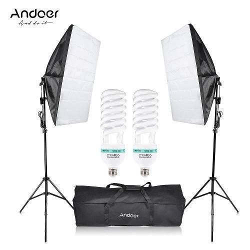 Softbox iluminacion fotografia kit profesional