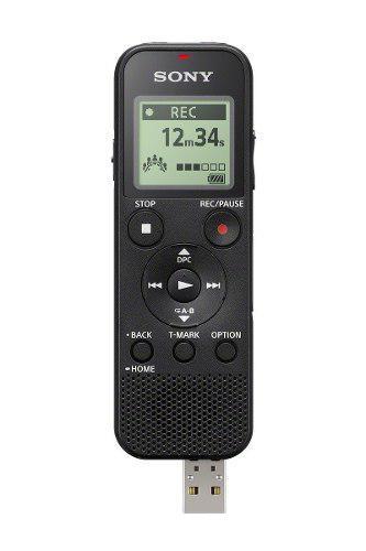 Sony icdpx370 grabadora de voz digital mono con usb