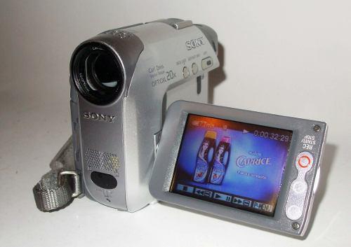 Sony Videocamara Casset Mini Dv Touch Mod Dcr-hc32 Digital