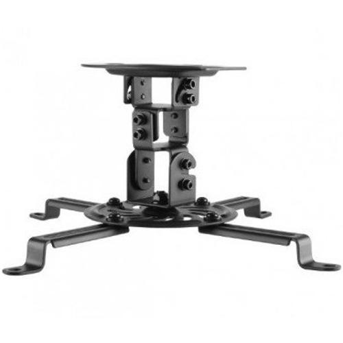 Soporte universal techo video proyector cañon 15cm base 360
