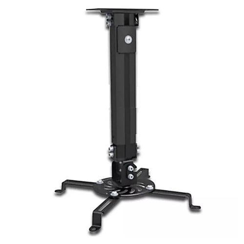 Soporte universal techo video proyector cañon 58cm base 360