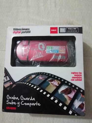 Videocamara digital portatil rca