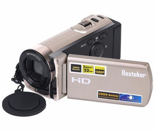 Videocámara besteker portable digital video hd max golden