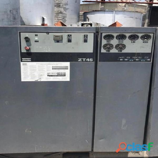 Compresor de garra dbl. etapa atlas copco 60 hp´s