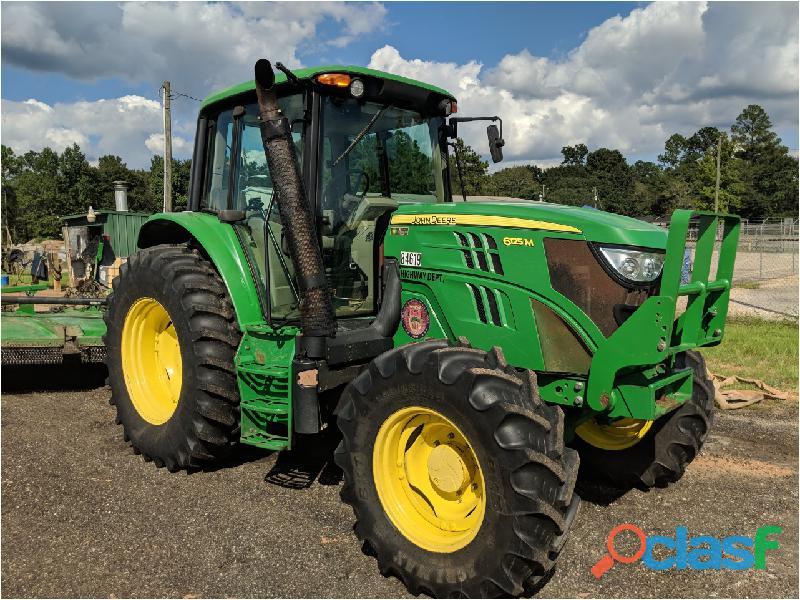 Tractor agricola john deere 6125m 2013