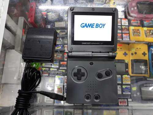 Gameboy advance sp negro doble brillo (envio gratis)