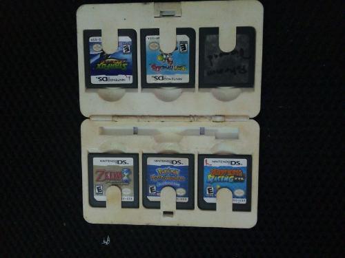 Lote 6 juegos ds usados solo cartucho nintendo ds zelda