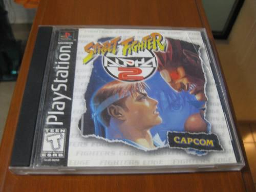 Street fighter alpha 2 ps1 completo remate