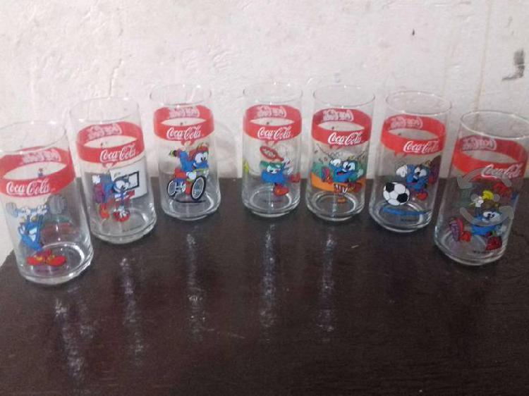 Vasos de coleccion coca cola