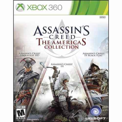 Assassins Creed Americas Collection Xbox 360 Nuevo