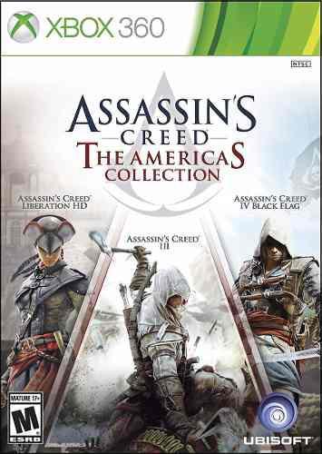 Assassins creed americas collection (nuevo sellado) xbox360