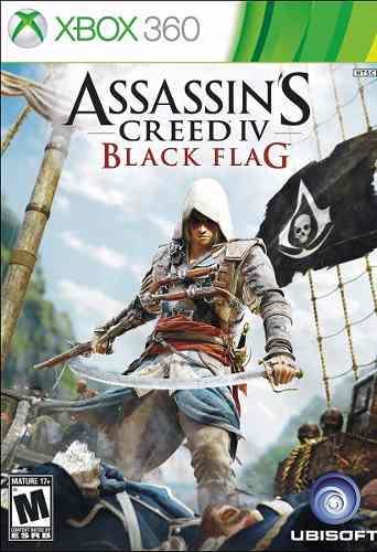 Assassins creed iv 4 black flag xbox 360 nuevo