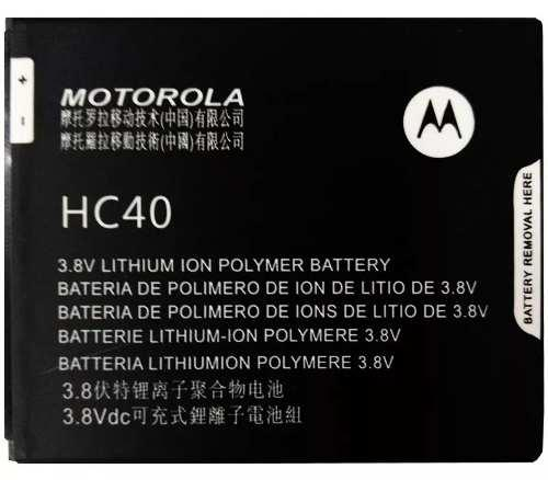 Bateria original motorola moto c e4 hc40 xt1750 1670 1760