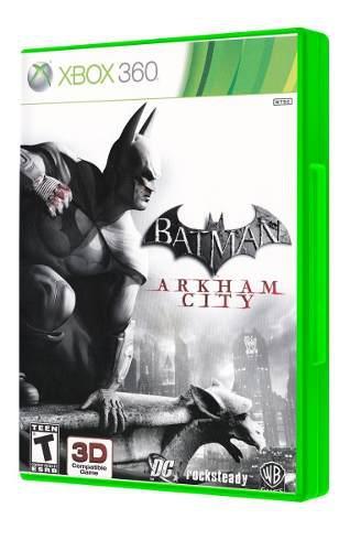 Batman arkham city xbox 360 seminuevo en igamers