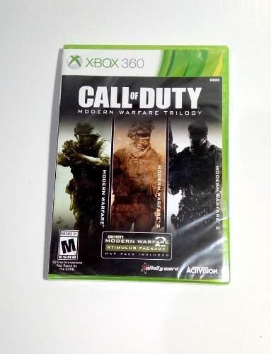 Call of duty modern warfare trilogy xbox 360 - nuevo!!