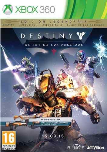 Destiny edicion legendary edition juegos online xbox 360
