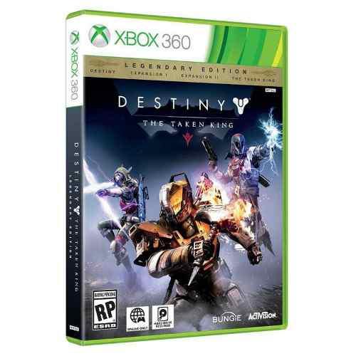 Destiny the taken king legendary nuevo y sellado xbox 360