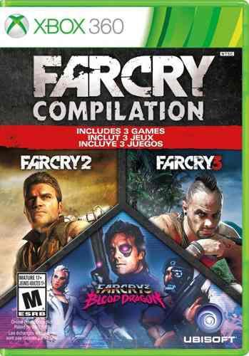 Far cry compilation:. para xbox 360 start games a meses