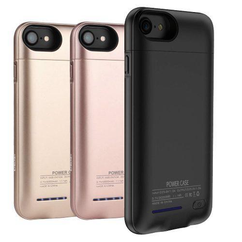 9286199ccb1 Funda batería externa iphone 6+ 6s+ 7+ 8+ plus 4200 mah eg