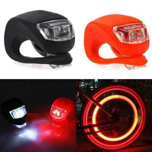 Mini luces led sapitos para bicicleta 2 piezas