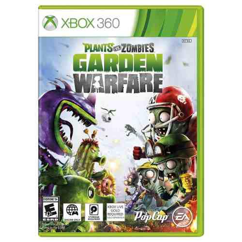 Plants vs zombies garden warfare xbox 360 codigo original