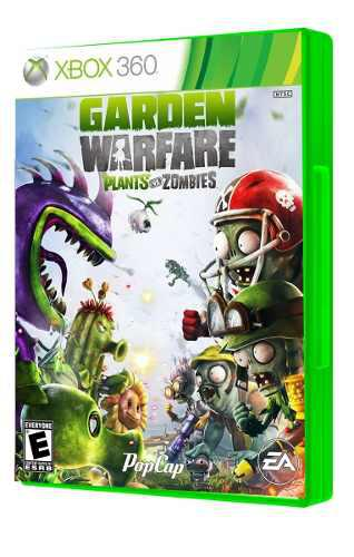 Plants vs zombies garden warfare xbox 360 seminuevo igamers
