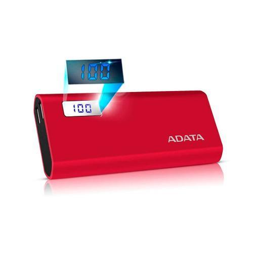 Power bank cargador portatil adata p12500d mah bateria cel