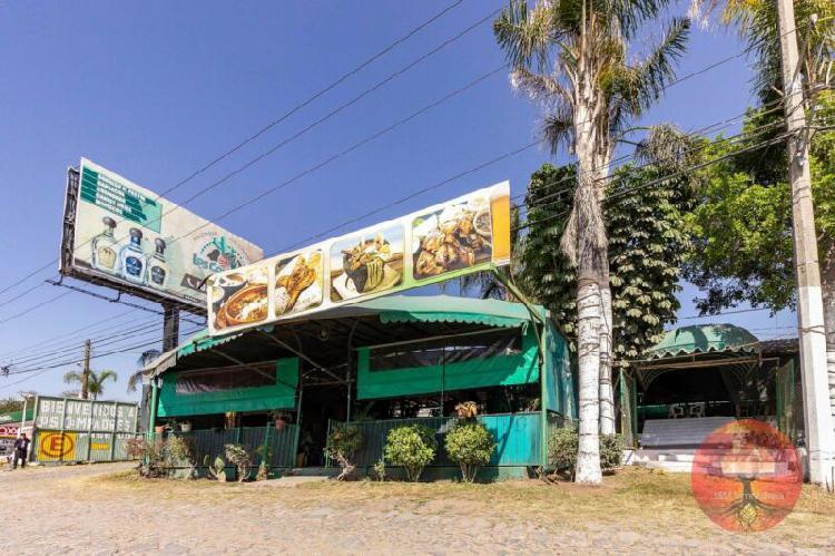 Restaurante en renta sobre periférico sur