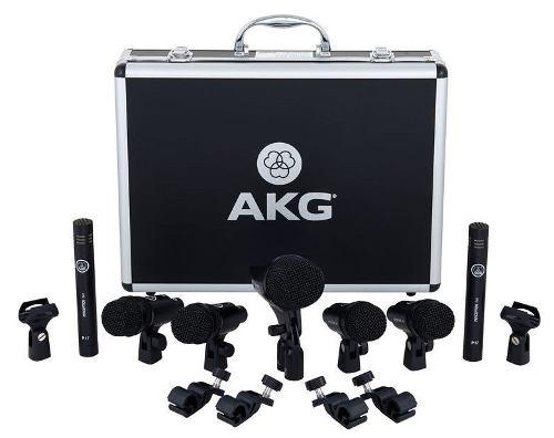 Set microfonos bateria akg drum set session 1