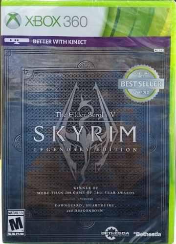 The elder scrolls v: skyrim legendary edition - xbox 360