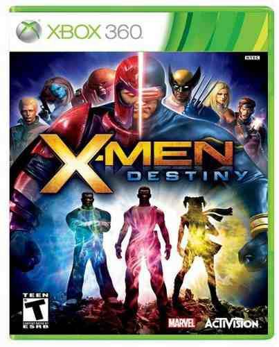 X-men destiny xbox 360 nuevo y sellado juego videojuego