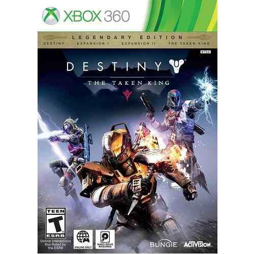 Xbox 360 juego destiny the taken king legendary edition
