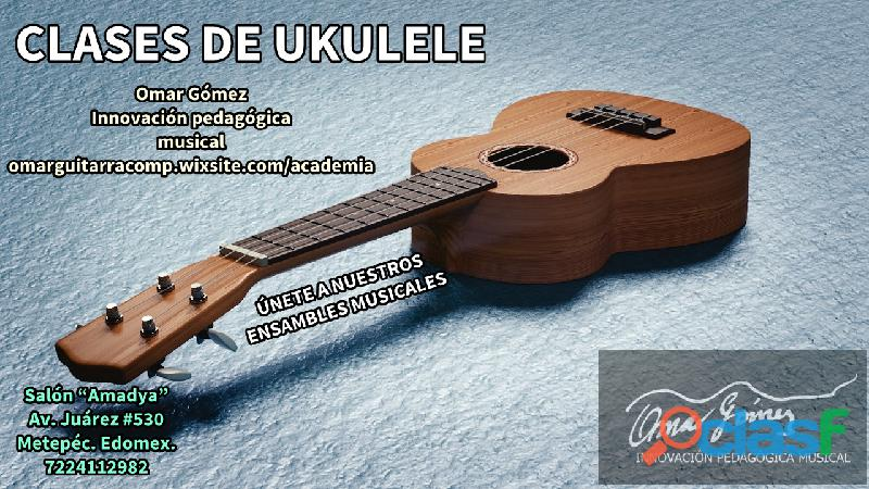 Clases de ukulele