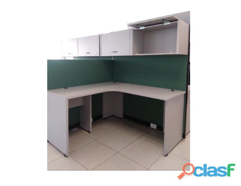 """Muebles oficina. 2 estaciones en forma de """"l"""""""