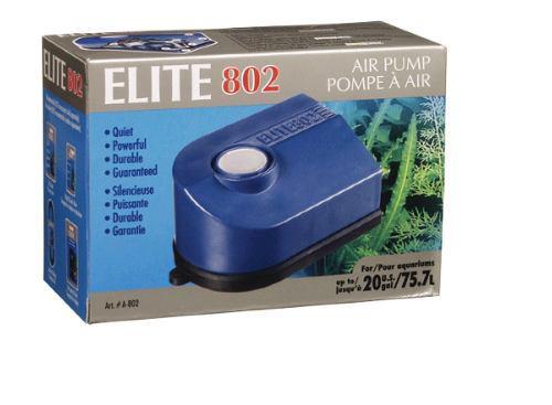 Bomba de aire elite 802 oxigenación peces acuario