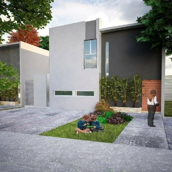 Cholul 7, casas en venta de dos plantas con una recámara en