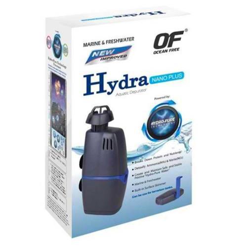 Filtro hydra nano para acuarios de agua salada y agua dulce