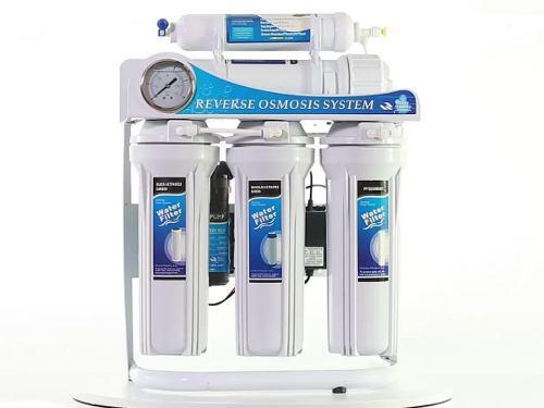 Osmosis inversa para acuario de agua dulce con bomba 100 gpd