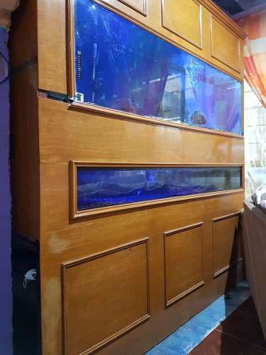 Pecera acuario marino 760 litros con sump