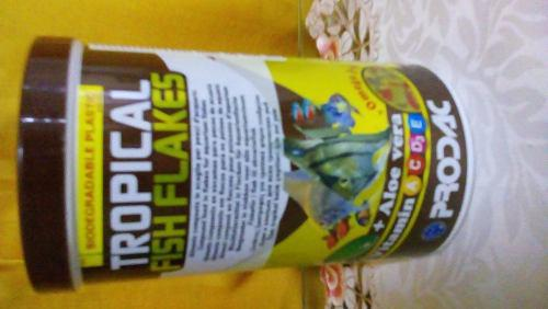 Prodac tropical fish flakes 200 gr alimento peces acuario